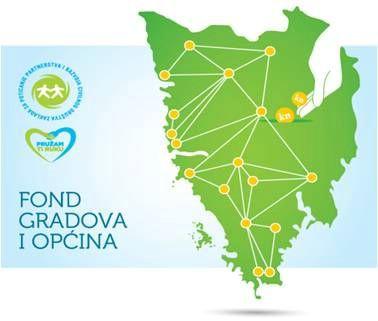 Kroz Fond gradova i općina dosad financirano 85 malih projekata u zajednici i dodijeljeno preko 770.000, 00 kn