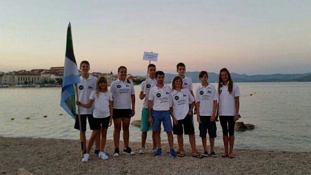 Jedriličari JK Kvarner na Otvorenom prvenstvu Hrvatske u jedrenju za kadete (U16) na otoku Murteru