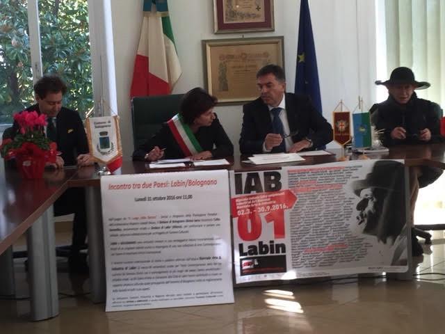 Labin i Bolognano (IT) potpisali Pismo namjere o suradnji