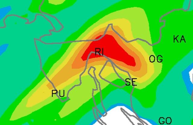 Upozorenje Stožera civilne zaštite Istarske županije zbog mogućih obilnih padalina tijekom vikenda