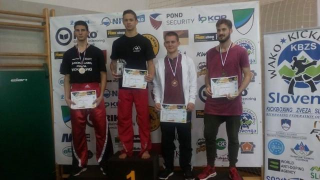 Marino Faraguna i Filip Grbić viceprvaci  kickboxing turnira Slovenija open 2016.