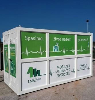 Mobilno reciklažno dvorište u Nedešćini i Šumberu