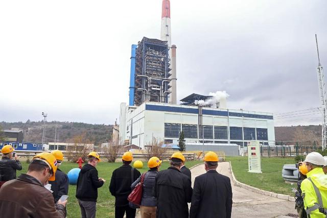 Otvoreno gradilište DENOX postrojenja Termoelektrane Plomin 2