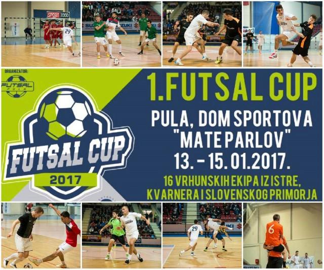 PRVI FUTSAL CUP: Novi futsal spektakl u organizaciji Futsal Pule