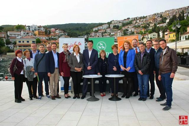 Labinski IDS, HSU i HNS u Rapcu potpisali koaliciju povodom predstojećih izbora