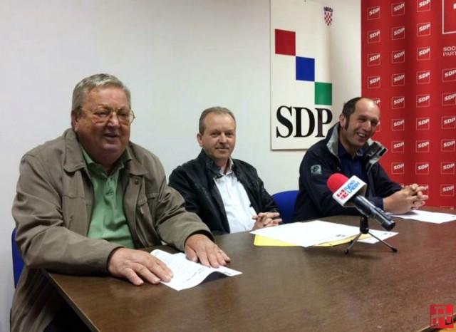 Elio Stepančić, SDP-ov kandidat za načelnika Općine Sveta Nedelja