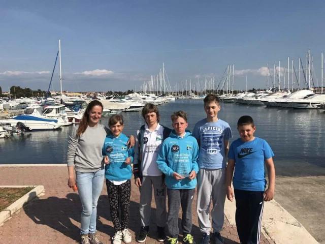 Manola Miletić (JK Kvarner) prva u konkurenciji djevojčica U12 na regati Mittel Europa Opti Race u Umagu