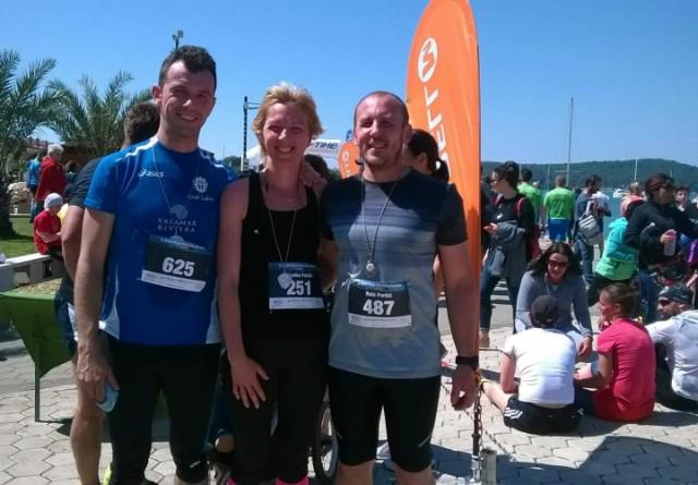 Članovi Triatlon kluba Albona Extreme na utrkama u Medulinu i Omišlju