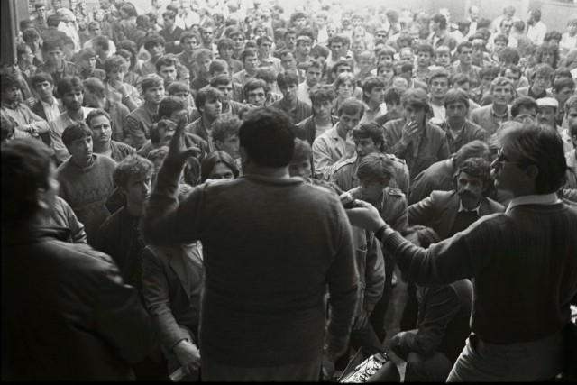 "Izložba ""Labinski rudari 1987."" u KUC Lamparna povodom 30. obljetnice štrajka rudara"