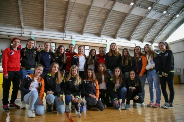 Mlade rukometašice Rudara prvakinje Istre