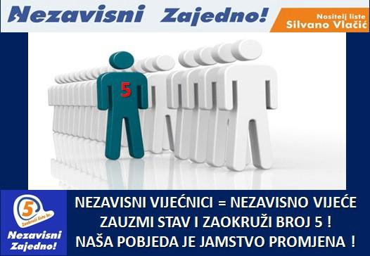 Tri razloga zbog kojih nezavisna lista, nositelja Silvana Vlačića,  zaslužuje vaš glas!