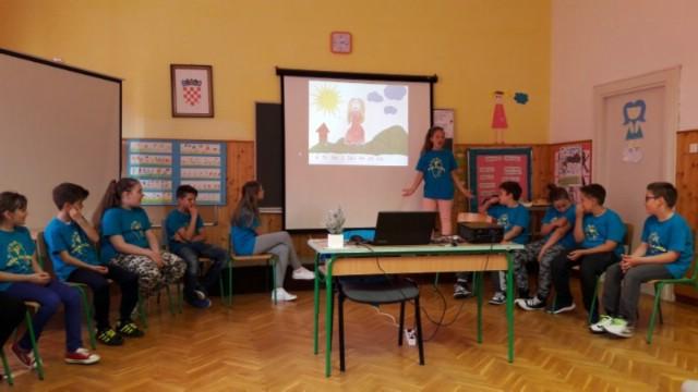 Učenici 4. razreda raške škole predstavili slikovnicu na cakavici Storija o lavandi