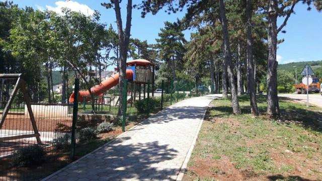 Dodatno uređeno dječje igralište u Rapcu