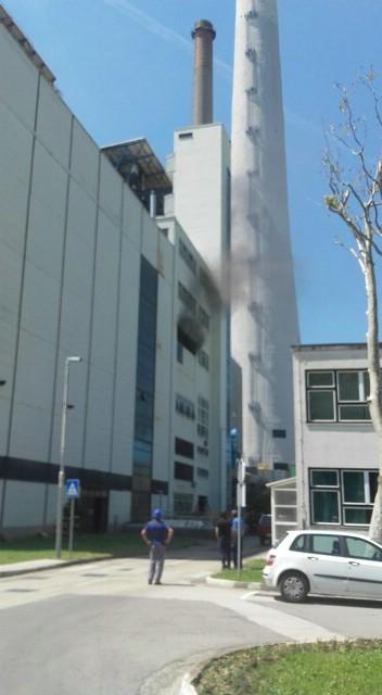 Požar u termoelektrani Plomin: `Čuo se prasak, suknuo je dim`