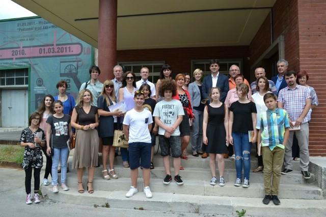 U Gradskoj knjižnici Labin održan prijem za najuspješnije učenike