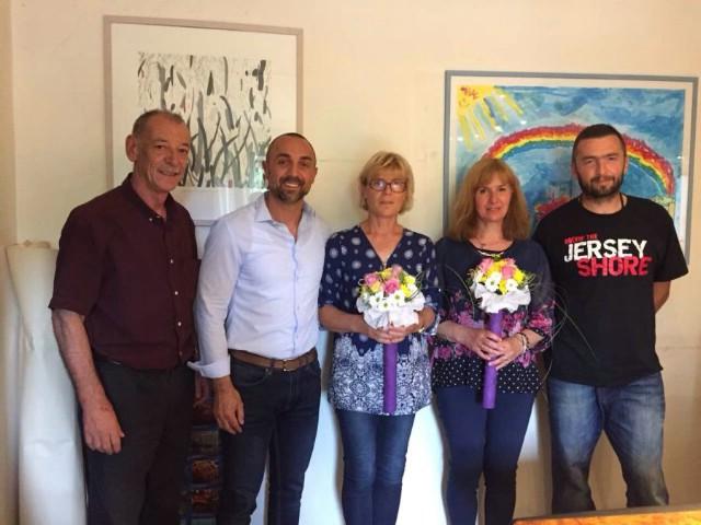 Općina Kršan: Prijem za boćarice ženske ekipe Boćarskog kluba Labin