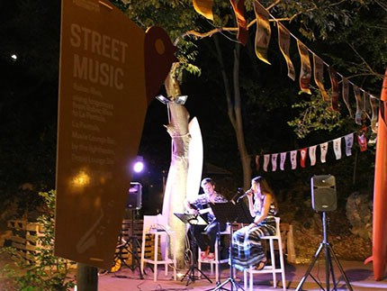 Circus in the city 1., 8. i 15. 8. / Street Music 2., 9., i 16. 8., Rabac