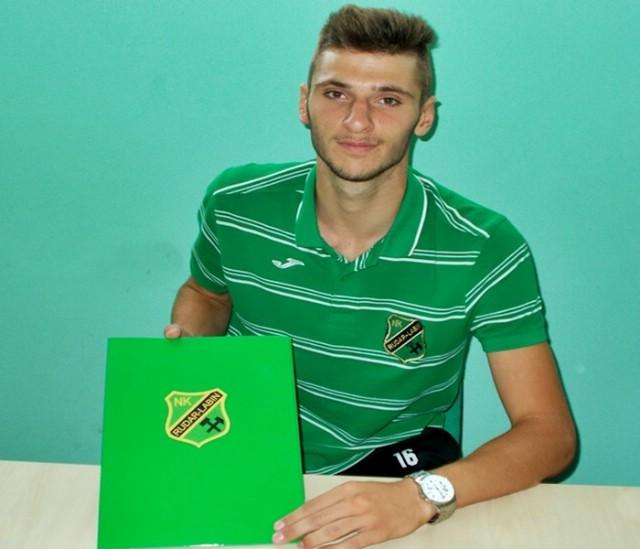 Povijesni dan za Rudar – Paulo Blažina prvi igrač u klubu sa ugovorom