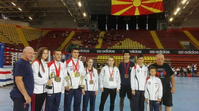 Filip  Grbić  osvojio broncu na Europskom prvenstvu  u  kickboxingu za kadete i juniore u Makedoniji