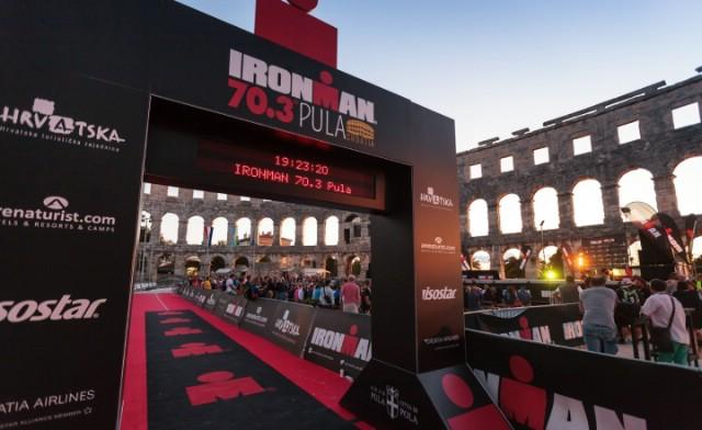Triatlonici Albone Extreme na Ironmanu 70,3 u Puli