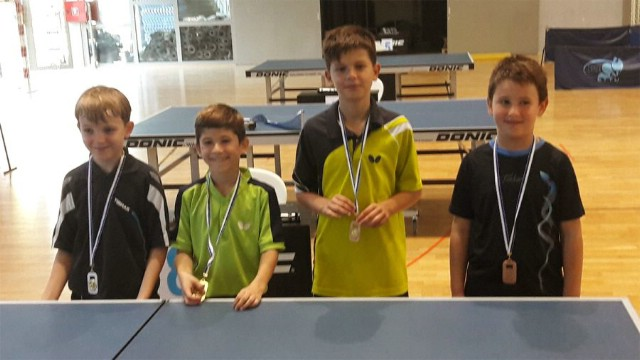 Stolni tenis: Leo Bernaz opet zlatni i brončani u Poreču