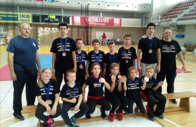 Labinjanima  19  medalja na  `Istrian  kickboxing  Challenger` natjecanju u Novigradu