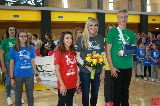 JANICA KOSTELIĆ svečano otvorila jubilarnu 10. Olimpijadu osnovnih škola Labinštine!