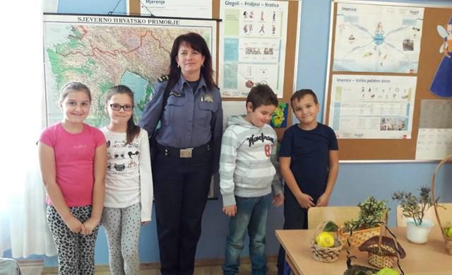 """U Kršanu akcija """"Sigurnost djece u prometu"""""""