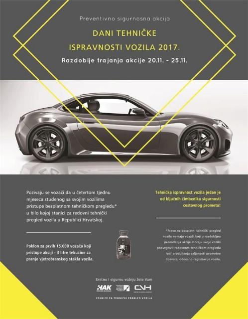 Preventivno–sigurnosna akcija `Dani tehničke ispravnosti vozila 2017.`