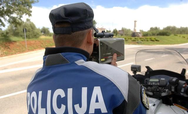 Na području cijele države: U četvrtak akcija 24-satnog nadzora brzine - pozivcije kontrola na Labinštini