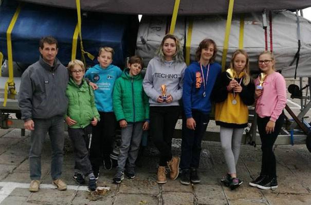 Alessia Juričić osvojila 1. mjesto u konkurenciji djevojčica do 12 godina na Lovranskoj regati