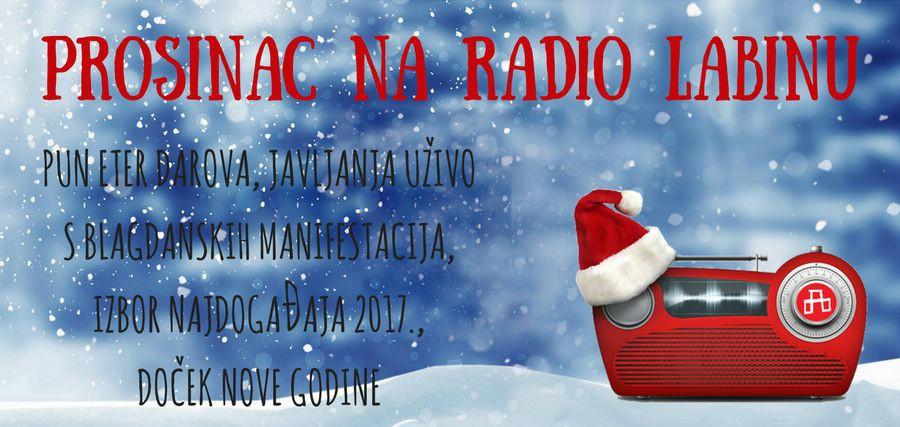 Prosinac na Radio Labinu!