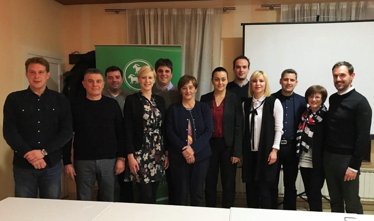 Dolores Sorić ponovno izabrana za predsjednicu labinskog IDS-a