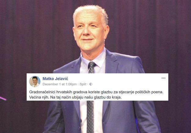 Matko Jelavić: Ovo je prvi put da čujem da srpski izvođač pjeva za katolički Božić u hrvatskom gradu