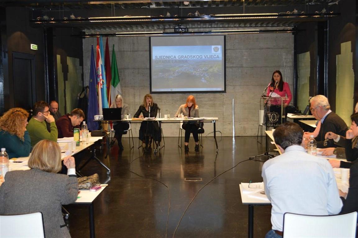 Gradsko vijeće Labina: Na prvom čitanju predložen proračun od gotovo 102,1 milijuna kuna