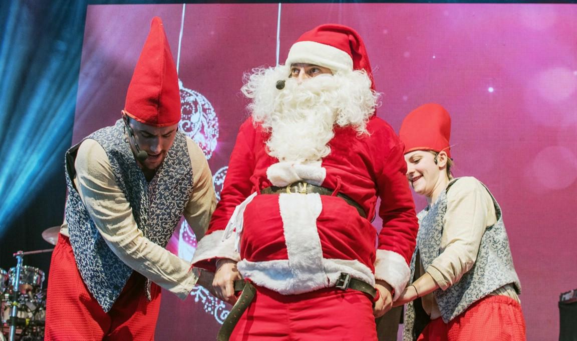 Božićna predstava `Djed Božićnjak u Istri` 23. prosinca u Labinu