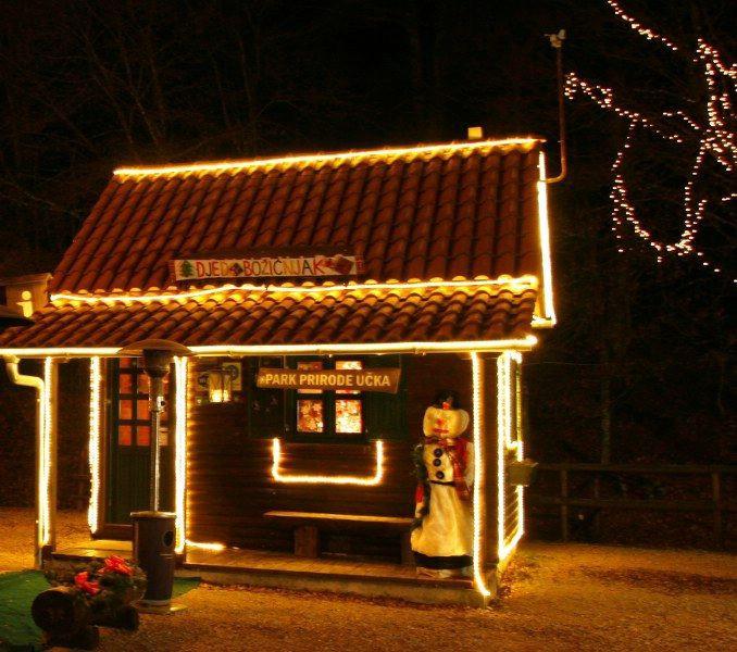 Sutra otvorenje Božićne bajke u Parku prirode Učka