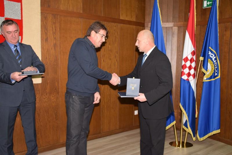 Sakib Trumić iz PP Labin odlikovan Spomenicom domovinske zahvalnosti