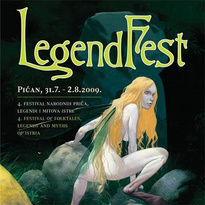 4. Legendfest Pićan 2009: Festival narodnih priča, legendi i mitova Istre - ove godine nastupa i Labinjan Mario Gigović  (program)
