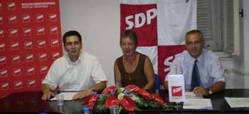 Prva tiskovna SDP-a nakon lokalnih izbora (Audio)