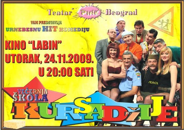 """Večeras """"Kursađije"""" ponovno u Labinu - dio prihoda namijenjen Centru Liče Faraguna (audio)"""