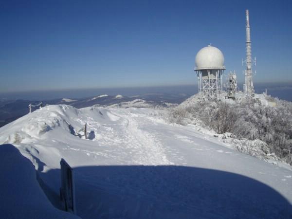 Ledena bajka: Na Učki i do tri metra snijega