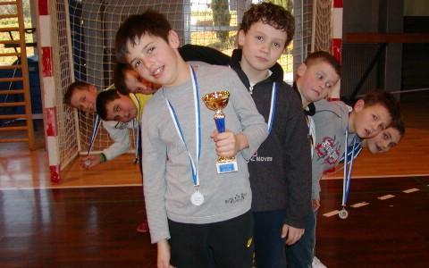 Fran Mileta najbolji igrač prvenstva Hrvatske u mini rukometu