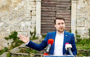 Lucian Mrzlić, student na čelu OV Kršana: 'Mladi neće u politiku zbog negativnih pojedinaca, ali to je pogrešno. Svi moramo raditi za boljitak društva'