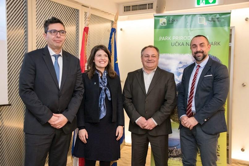 Projekt Učka 360° – gotovo 50 milijuna kuna za unapređenje posjetiteljske infrastrukture i programa u Parku prirode Učka