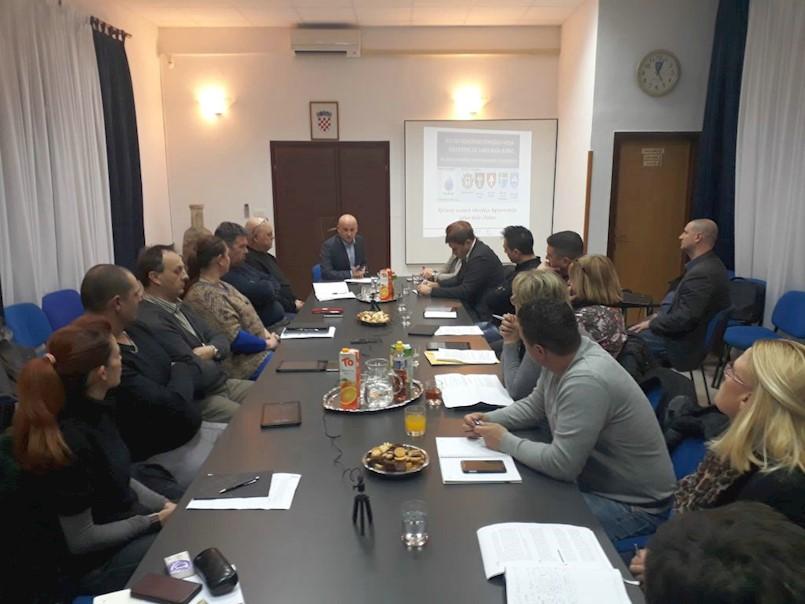Održan radni sastanak Općinskog vijeća o projektu odvodnje otpadnih voda