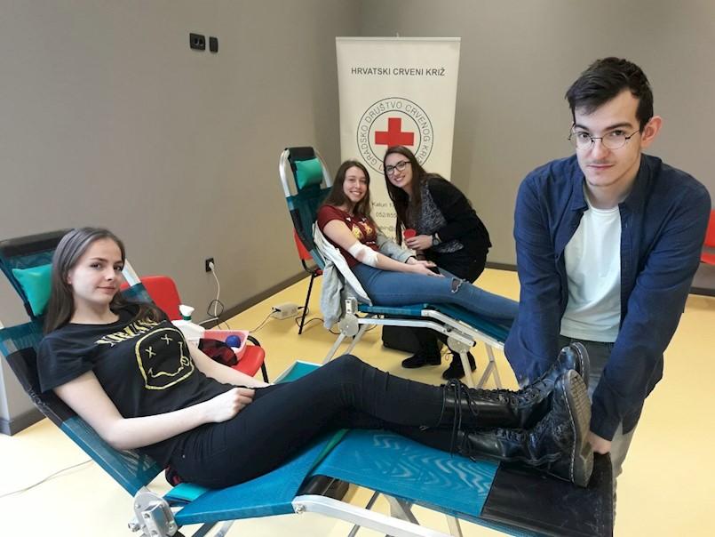 Uspješna prva ovogodišnja akcija darivanja krvi