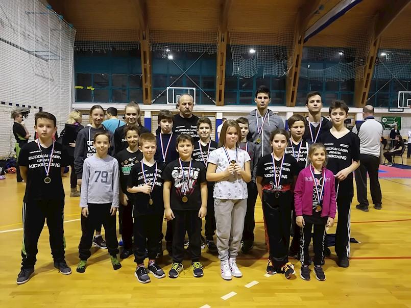 Vijest sa Županijskog kickboxing prvenstva u pointfightingu, lightcontactu i kicklightu