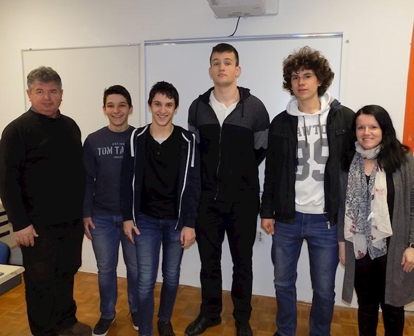 Karlo Frankola i Marko Damjanić ponovno osvojili 1. mjesta na županijskom natjecanju iz informatike