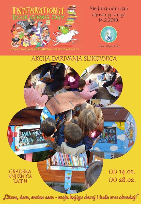 Međunarodni dan darivanja knjiga u Gradskoj knjižnici